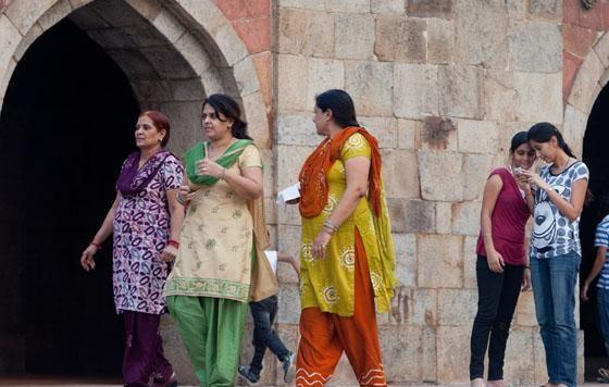 The women of New Delhi are fearful of the acid attacks which are being documented more and more. Photo: Getty Images.