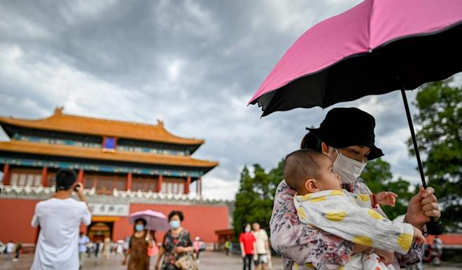 National Day on October 1 triggers the start of a week-long national holiday. Photo: AFP