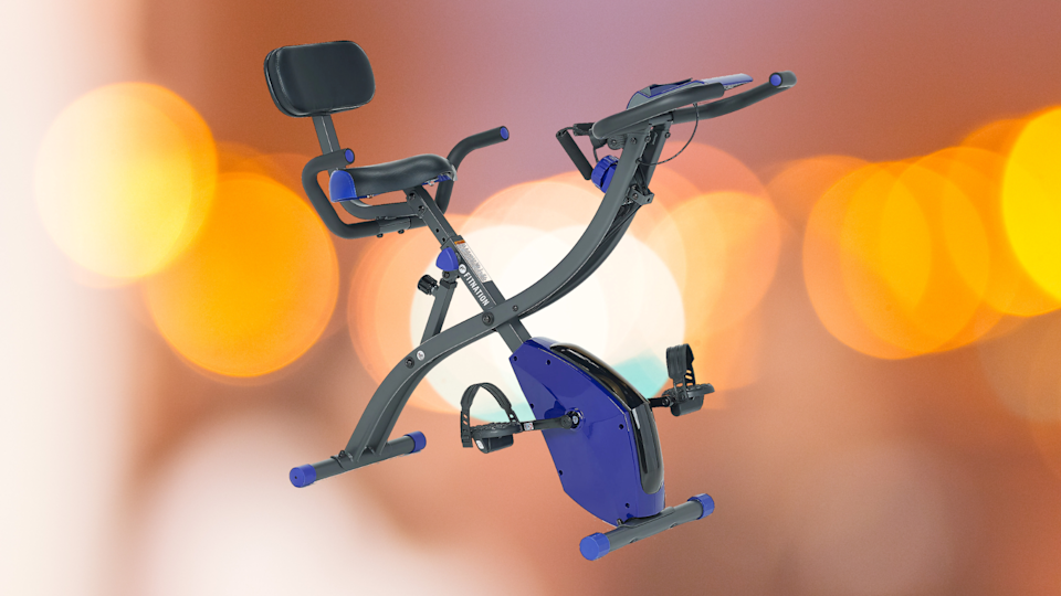 Save $28 on this FitNation Upright and Recumbent Flex Bike Express. (Photo: QVC)