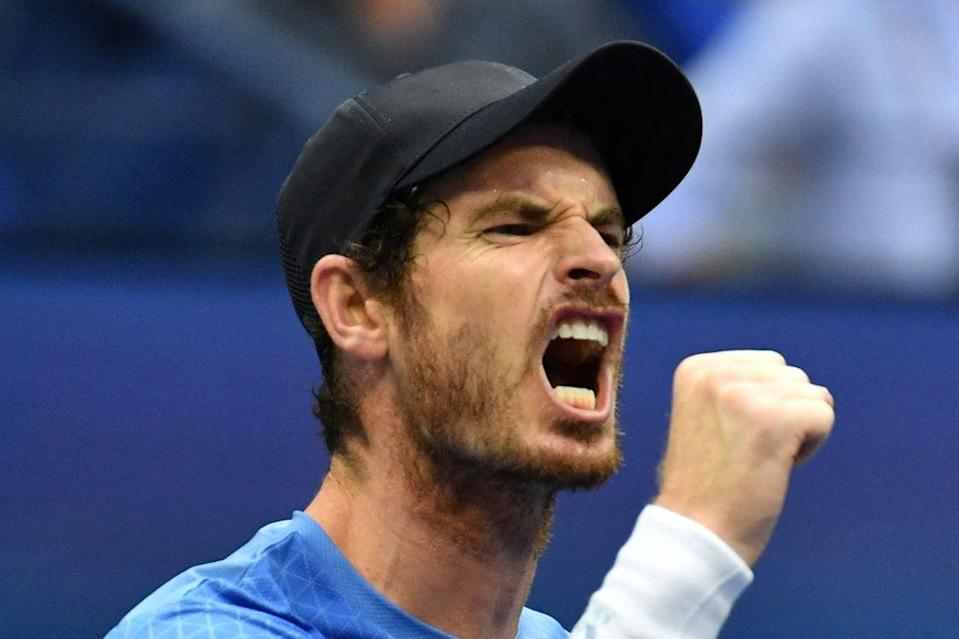 Andy Murray is through to the last eight at the Moselle Open in France  (AFP via Getty Images)