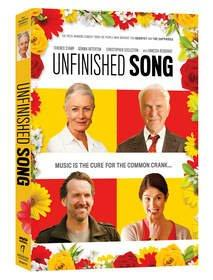 Academy Award(R) Nominee Terence Stamp and Academy Award(R) Winner Vanessa Redgrave Star in the Heart-Warming Film UNFINISHED SONG on DVD September 24th From Anchor Bay Entertainment and The Weinstein Company