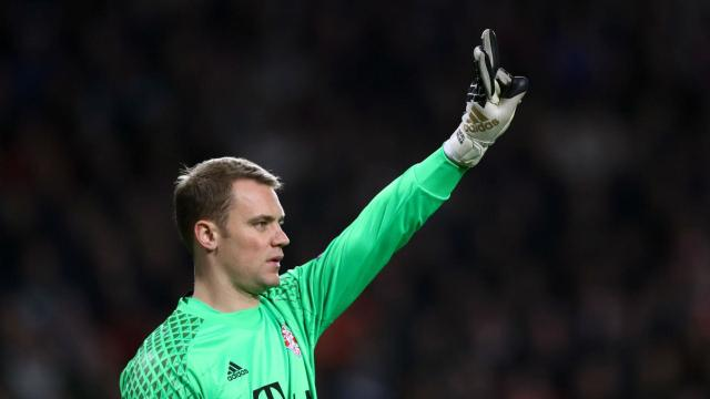 Bayern Munich will have to do without goalkeeper Manuel Neuer for their next two games due to a foot injury.