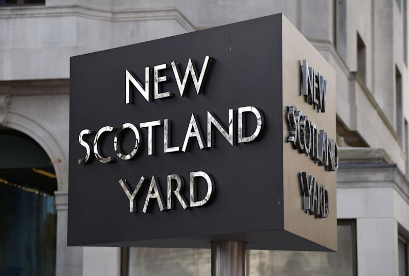 File photo dated 03/02/17 of the New Scotland Yard sign. Scotland Yard has reported itself to the police watchdog again over claims of more blunders in the disastrous investigation into false claims of a VIP paedophile ring.