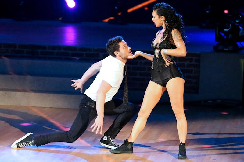 Rumer WIllis and Val Chmerkovskiy, Dancing with the Stars | Photo Credits: Adam Taylor/ABC.