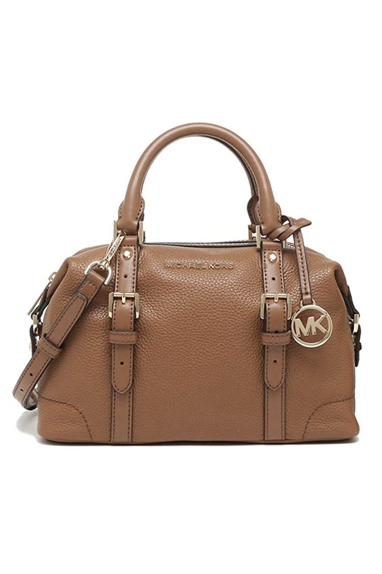 """<p><strong>Michael Kors</strong></p><p>amazon.com</p><p><strong>$138.00</strong></p><p><a href=""""https://www.amazon.com/dp/B0847BR1SB?tag=syn-yahoo-20&ascsubtag=%5Bartid%7C10058.g.34151258%5Bsrc%7Cyahoo-us"""" rel=""""nofollow noopener"""" target=""""_blank"""" data-ylk=""""slk:Shop Now"""" class=""""link rapid-noclick-resp"""">Shop Now</a></p><p>This mini duffel in leather also has a crossbody strap to keep you feeling handsfree and fabulous.</p>"""