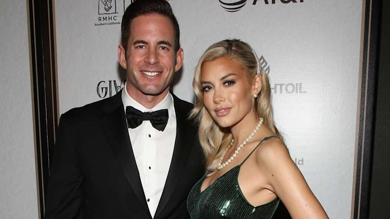 Tarek El Moussa Shares Sweet Pic of Girlfriend Heather Rae Young 'Chillin' With Son at Daughter's Soccer Game