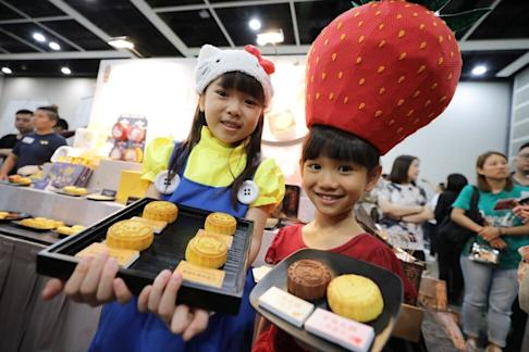 Kee Wah Bakery products, seen here at last year's Hong Kong Trade Development Council Food Expo, are a significant export to the US. Photo: May Tse