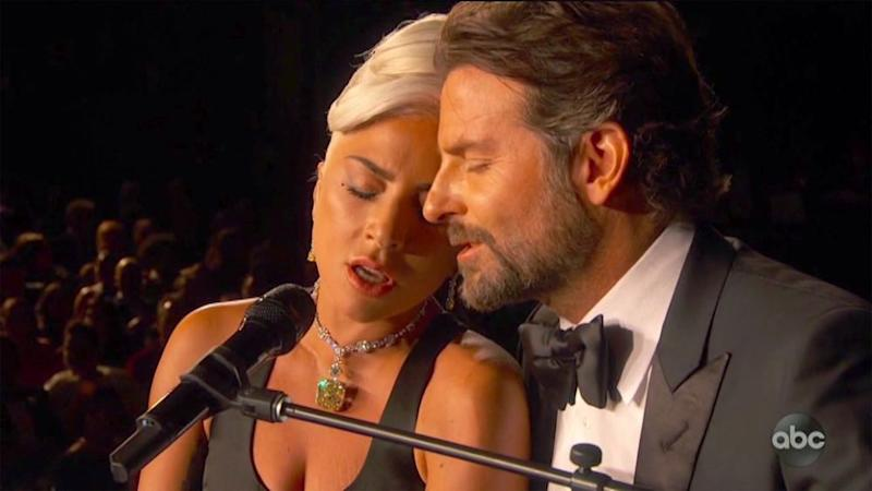 Lady Gaga and Bradley Cooper at the 2019 Oscars | ABC