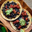 """<p>Would you believe us if we said you can have restaurant-style tostadas at home in just 15 minutes? It's no problem! Simply layer black beans and Cheddar onto corn tortillas and toast in the toaster oven. <a href=""""http://www.eatingwell.com/recipe/260716/toaster-oven-tostadas/"""" rel=""""nofollow noopener"""" target=""""_blank"""" data-ylk=""""slk:View recipe"""" class=""""link rapid-noclick-resp""""> View recipe </a></p>"""