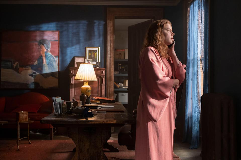 <p>Amy Adams in The Woman in the Window</p> (Netflix)
