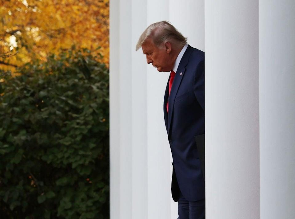 <p>President insists he won the election</p> (Getty Images)