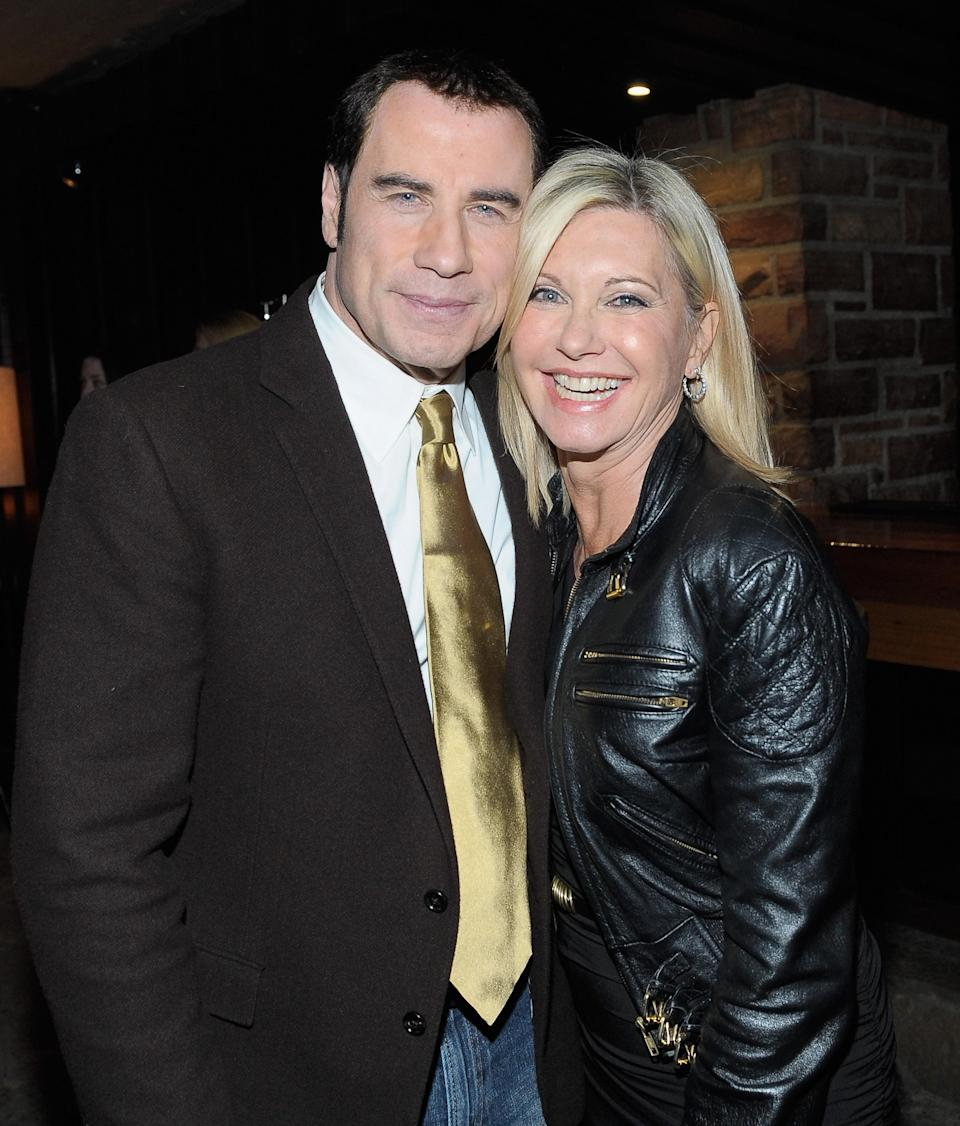 """John Travolta says Olivia Newton-John is doing """"fine"""" as she battles breast cancer for the third time. Photo: Getty Images"""