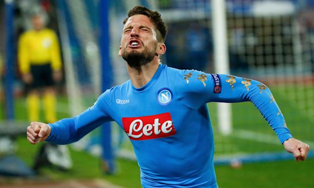 Dries Mertens has scored 38 goals for Napoli in an incredible 12 months since being switched up front.
