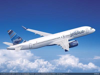 Pratt & Whitney congratulates JetBlue Airways on its selection of 60 firm Airbus A220-300 aircraft, which are powered exclusively by Pratt & Whitney Geared Turbofan™ (GTF) engines.