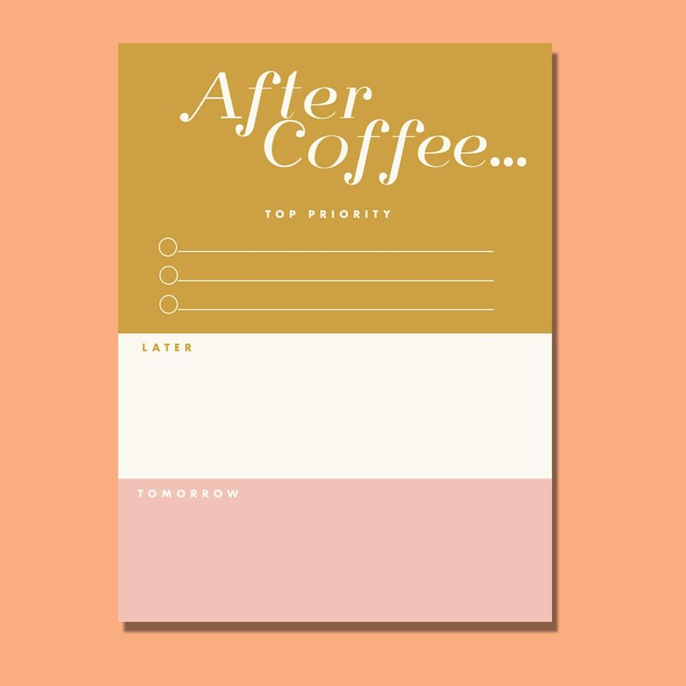 <p>It doesn't hurt that this <span>Boss Lady Notepad</span> ($15) is pretty to look at.</p>