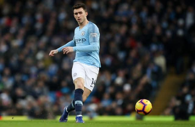 Pep Guardiola will be hoping to have centre-back Aymeric Laporte back in action early in the new year (Nick Potts/PA Images).