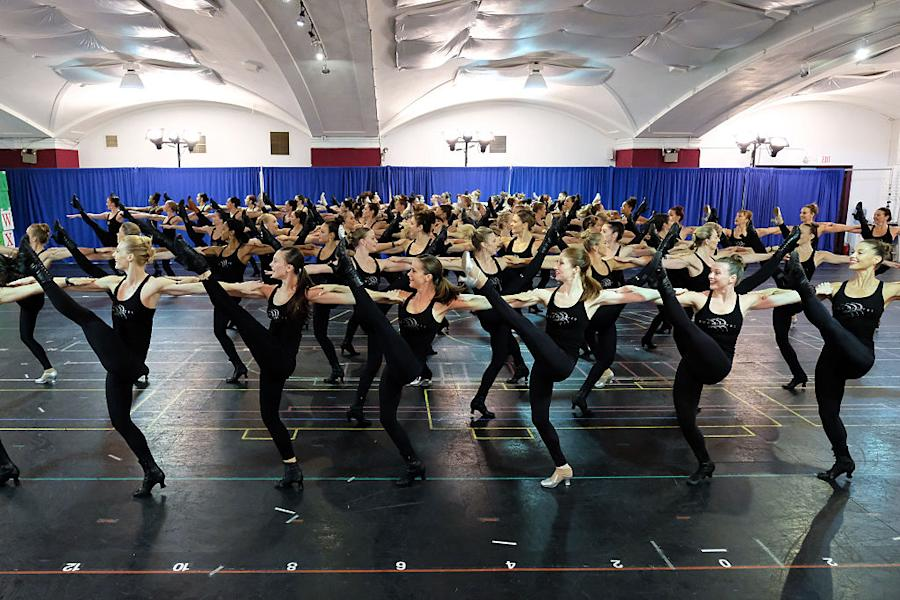 The Rockettes Rehearse For The 2016 Radio City Christmas Spectacular