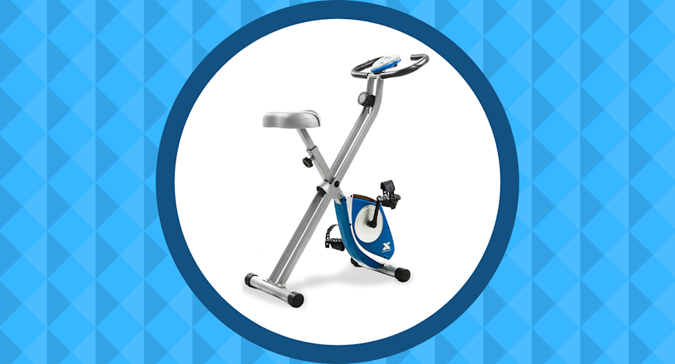 This compact Folding Exercise Bike has earned the seal of approval from Amazon Canada shoppers.