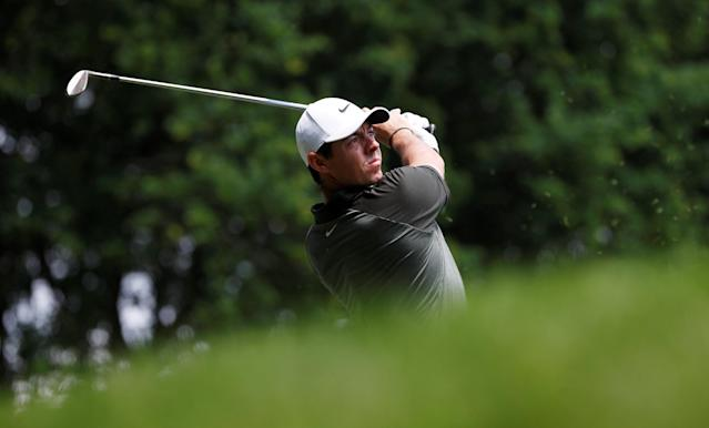 Golf - European Tour - BMW PGA Championship - Wentworth Club, Virginia Water, Britain - May 26, 2018 Northern Ireland's Rory McIlroy in action during the third round Action Images via Reuters/Paul Childs