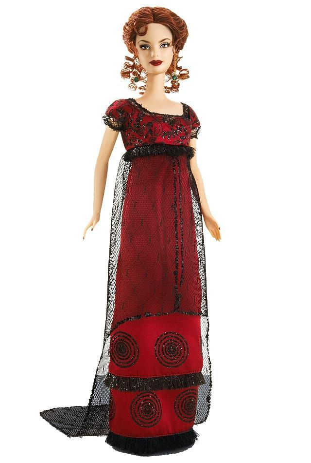 "<div class=""caption-credit""> Photo by: barbiecollector.com</div><b>""Titanic"" Barbie, released in 2007 for $34.95</b> <br> The description says "" this doll is every bit as elegant as the characters portrayed in the 1997 hit."" We'll agree they got Kate Winslet's awful '90s styling (note the too-dark lipstick and Empire waist) down to a science."
