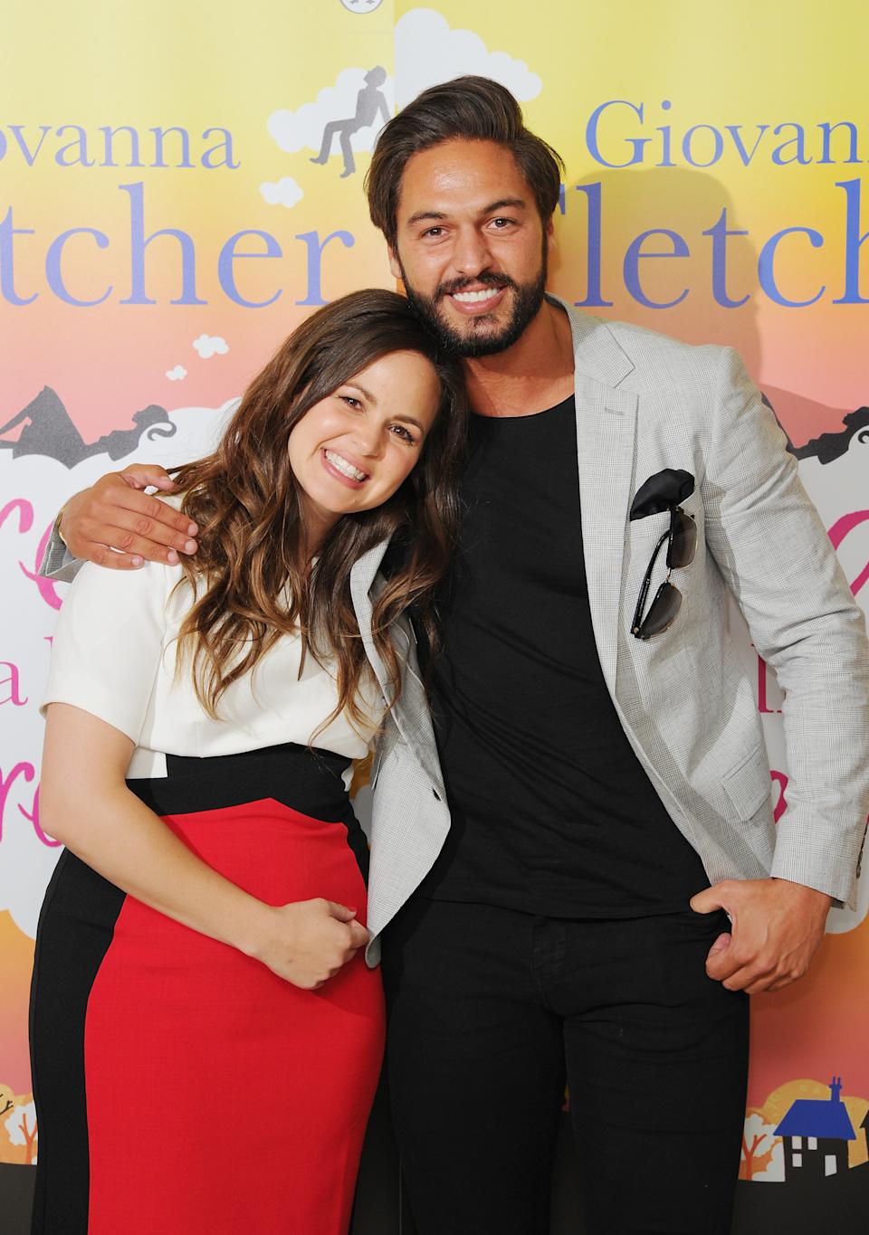 """LONDON, ENGLAND - JUNE 18:  Giovanna Fletcher and Mario Falcone attend the launch of Giovanna Fletcher's """"Dream A Little Dream"""" at  on June 18, 2015 in London, England.  (Photo by Eamonn McCormack/WireImage)"""