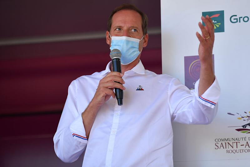 Tour de France director Christian Prudhomme was a guest on stage 4 of the 2020 Route d'Occitanie