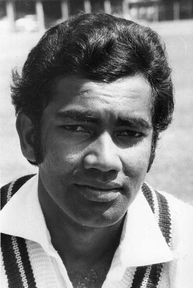 Alvin Kallicharan of Warwickshire Cricket Club and the West Indies.    (Photo by Evening Standard/Getty Images)