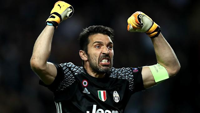 The veteran shot-stopper kept yet another clean sheet in his 100th Champions League appearance for the Old Lady