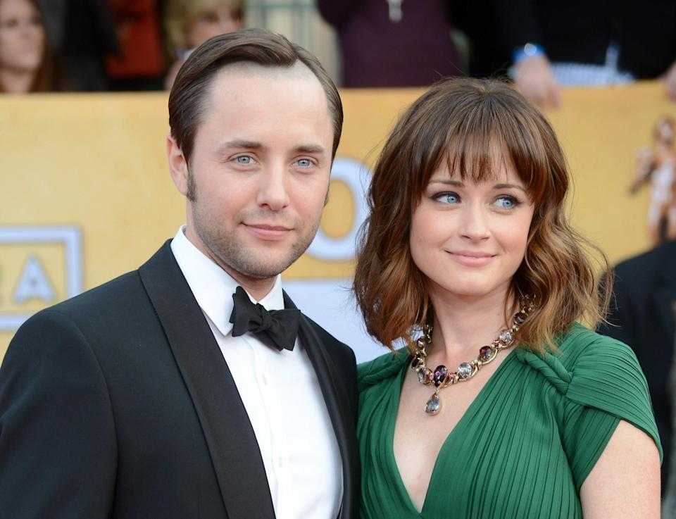 "<em>Mad Men</em> didn't have a lot of happy endings, but Alexis Bledel and Vincent Kartheiser's <a href=""https://www.glamour.com/story/alexis-bledel-and-vincent-kart?mbid=synd_yahoo_rss"" rel=""nofollow noopener"" target=""_blank"" data-ylk=""slk:marriage"" class=""link rapid-noclick-resp"">marriage</a> in 2014 was one of them. The couple's storyline was a short-lived (albeit complicated) tryst that served as an introduction for the stars. Once the cameras stopped rolling, their relationship continued and now they share a son."