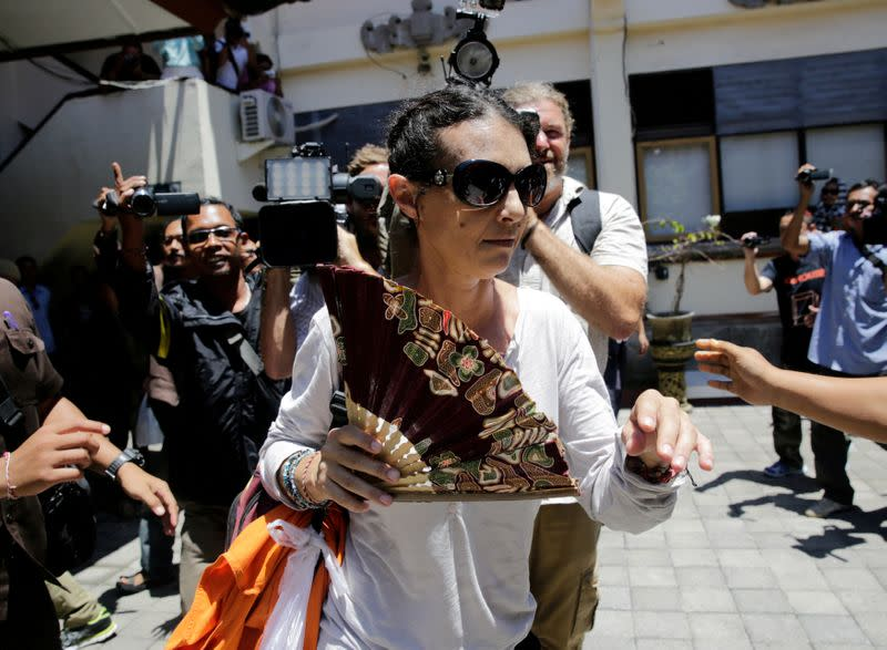 Australian woman jailed over Bali policeman's death gets early release