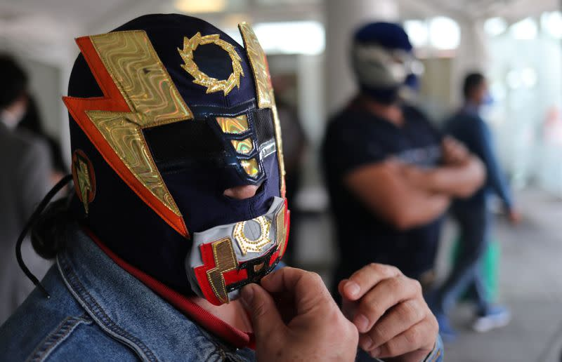 Mexico's legendary masked wrestlers thrown out of ring by coronavirus