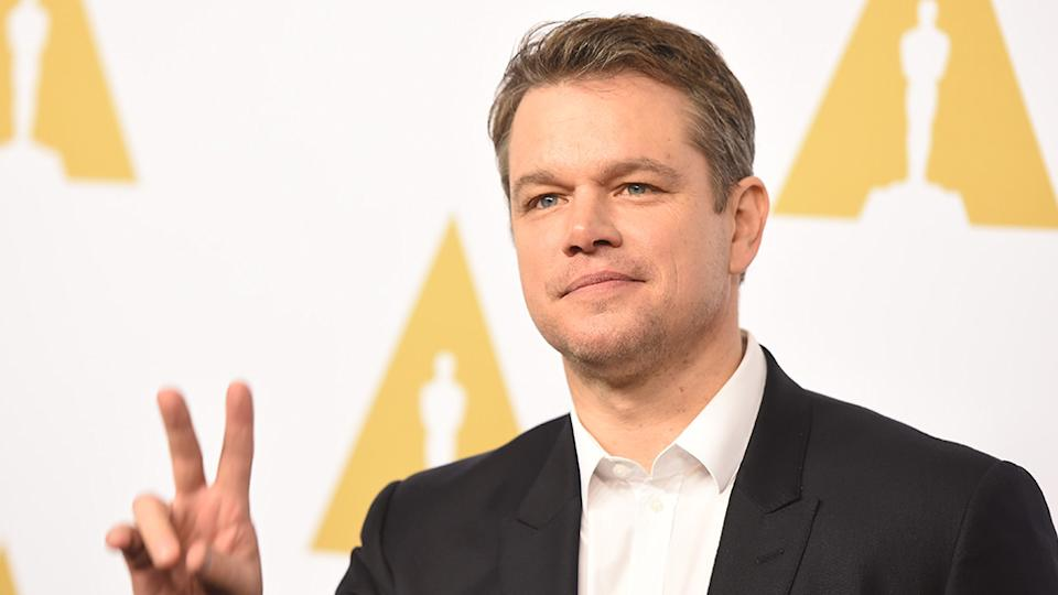 Matt Damon and his family have arrived in Australia, where they will be living while the actor shoots Thor: Love and Thunder in NSW. Photo: Getty