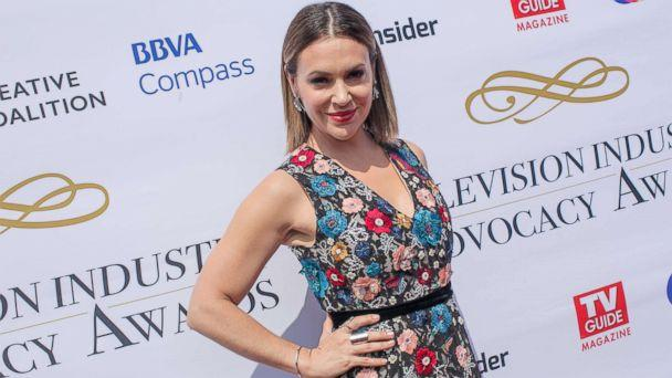 PHOTO: Alyssa Milano arrives to the Television Industry Advocacy Awards at TAO Hollywood, Sept. 16, 2017, in Los Angeles. (Gabriel Olsen/Getty Images)