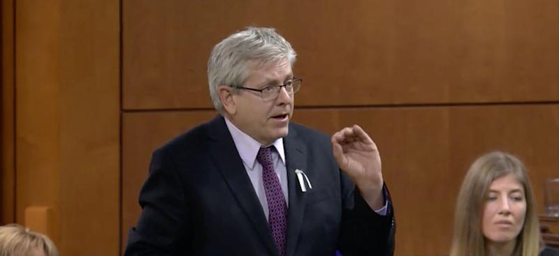 NDP MP Charlie Angus speaks in the House of Commons on Dec. 6, 2019. (Photo: ParlVu screengrab)