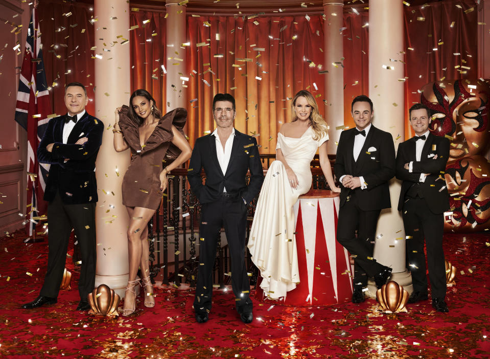 Britain's Got Talent judges and presenters. (ITV)
