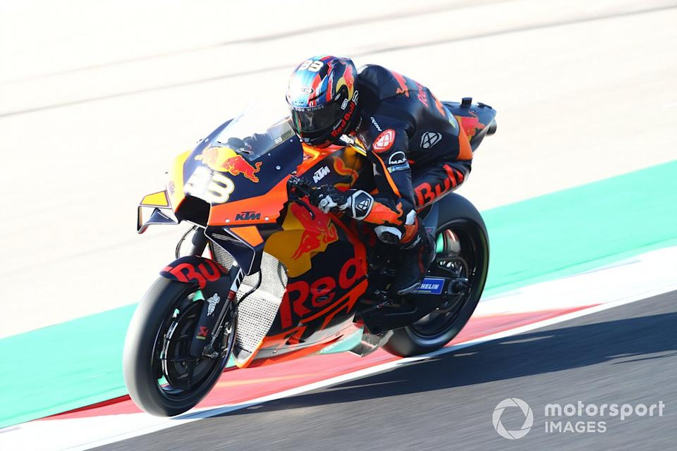 "P13 Brad Binder, Red Bull KTM Factory Racing<span class=""copyright"">Gold and Goose / Motorsport Images</span>"