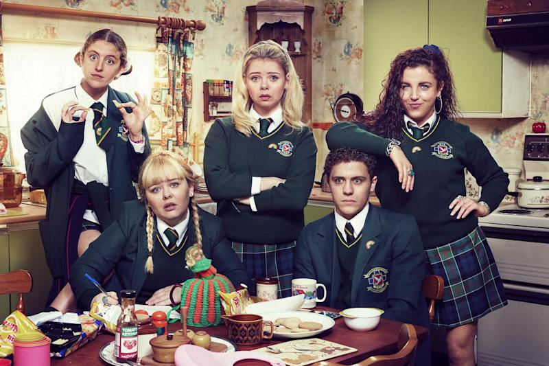 Fresh air: Derry Girls balances the madness of adolescence with the turbulence of the Troubles: Channel 4 / Adam Lawrence