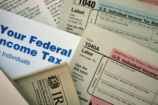US federal tax forms are distributed by the Internal Revenue Service. The fiscal cliff comprises a poison-pill law agreed by Republicans and Democrats in August 2011 that forces harsh budget cuts from January 1, and the expiration of a wide range of tax cuts originally designed as temporary measures to boost economic growth