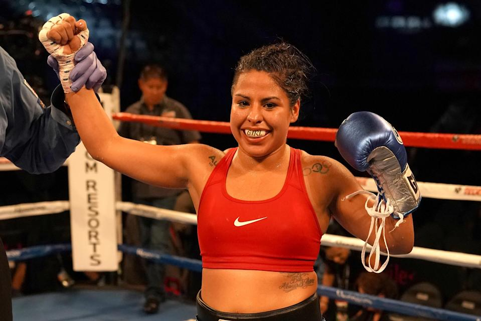 Marlen Esparza, a 2012 bronze medalist at the London Olympics, hopes to become the face of women's boxing. (Getty Images)