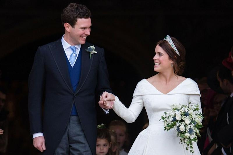 Jack Brooksbank and Princess Eugenie | Pool/Samir Hussein/WireImage