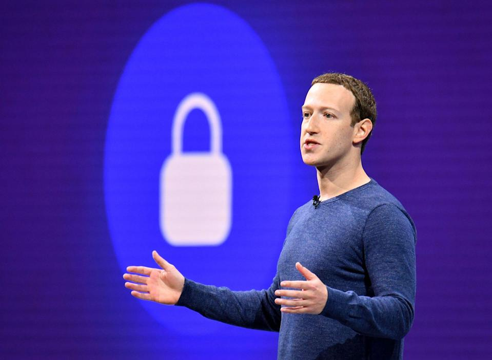 Facebook is much closer to debuting its cryptocurrency than expected and reportedly has plans for nodes, an ATM, and employee pay. | Source:  Photo by JOSH EDELSON / AFP