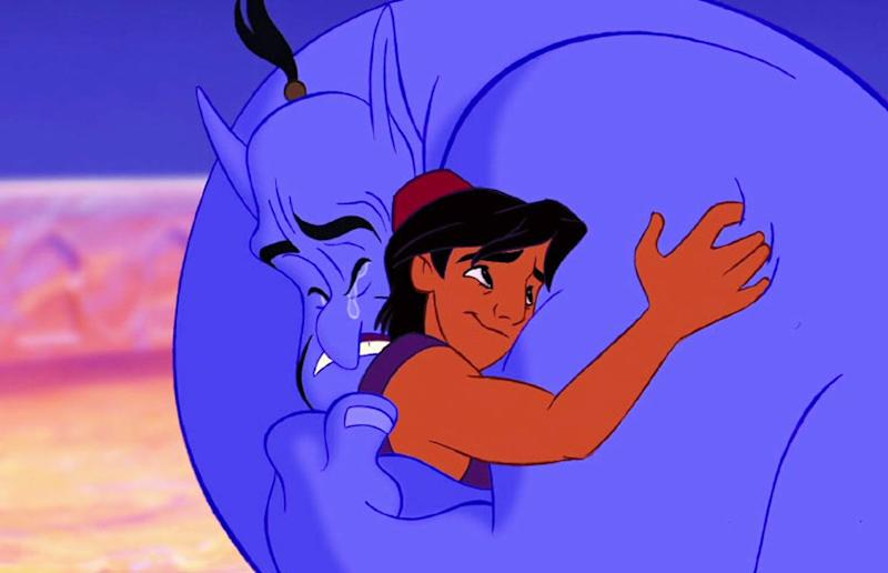 Instagram filter matched Robin Williams' daughter to his 'Aladdin' character