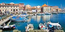"""<p>Famous for its dazzling coastline, Sardinia is a no-brainer when it comes to listing beautiful places. This Mediterranean island is home to the upscale resort area of <a href=""""https://www.tripadvisor.com/Tourism-g5978799-Costa_Smeralda_Province_of_Olbia_Tempio_Sardinia-Vacations.html#"""" rel=""""nofollow noopener"""" target=""""_blank"""" data-ylk=""""slk:Costa Smeralda"""" class=""""link rapid-noclick-resp"""">Costa Smeralda</a>, which is known for its beaches like Grande Pevero and Capriccioli. The island also has caves, cliffs, and amazing local cuisine — this <em>is</em> Italy, after all.</p>"""