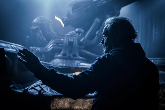alien covenant photo ridley scott