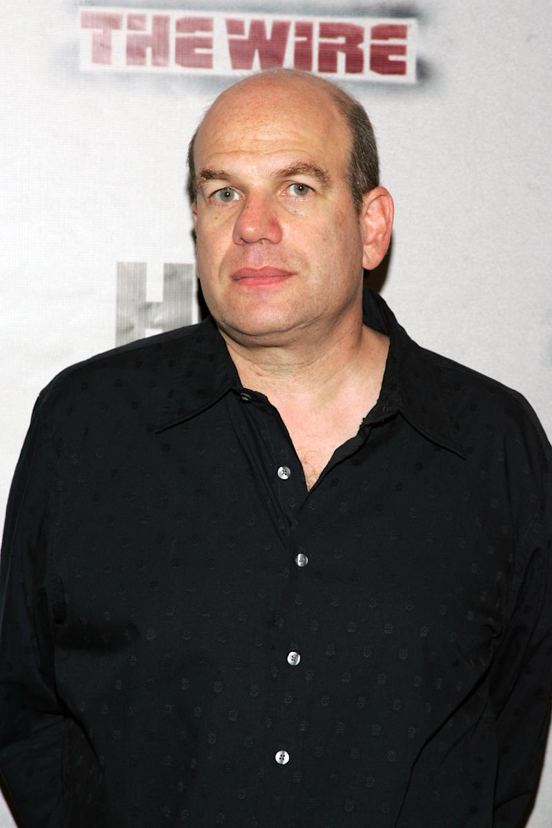 """NEW YORK - SEPTEMBER 07: Producer David Simon arrives at the premiere of HBO's """"The Wire"""" on September 7, 2006 in New York City. (Photo by Bryan Bedder/Getty Images)"""