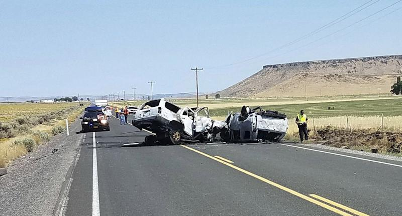 An Oregon family of seven were killed during a family Las Vegas road trip.