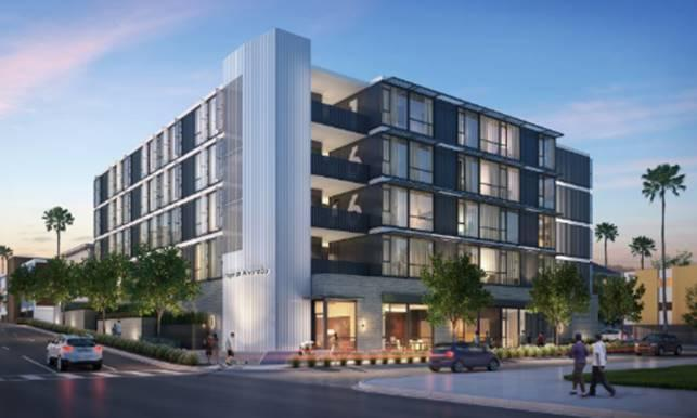 Hope on Alvarado (Rendering by KTGY Architecture + Planning).