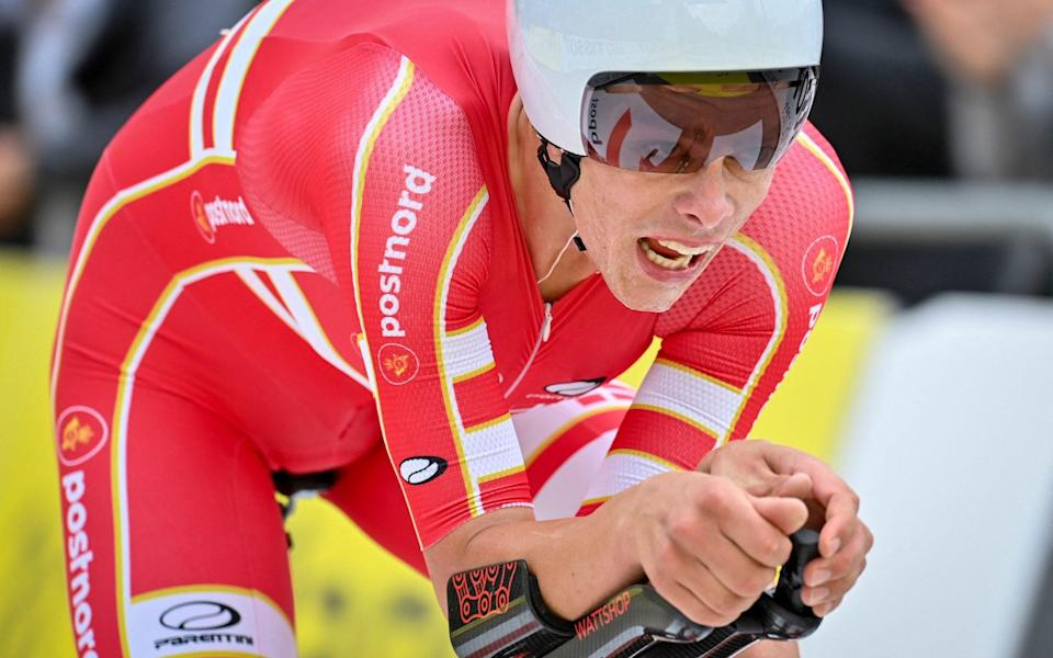 Johan Price-Pejtersen – Price-Pejtersen the latest great young Dane to win U23 time trial - GETTY IMAGES