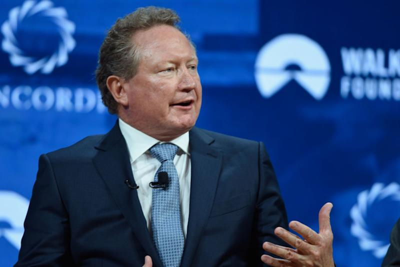 Andrew Forrest will make more than $1 billion in a single day. Source: Getty
