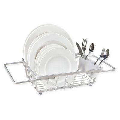 "<h3><a href=""https://www.bedbathandbeyond.com/store/product/org-aluminum-expandable-over-the-sink-dish-rack/5316150"" rel=""nofollow noopener"" target=""_blank"" data-ylk=""slk:ORG Over-the-Sink Dish Rack"" class=""link rapid-noclick-resp"">ORG Over-the-Sink Dish Rack<br></a></h3> <br>This dish drainer sits over your sink when you're done washing up, meaning no extra countertop space is taken up with a bulky dish drainer. It's also easy to stow away when it's not in use.<br><br><br><strong>.ORG</strong> Aluminum Expandable Over-the-Sink Dish Rack, $, available at <a href=""https://go.skimresources.com/?id=30283X879131&url=https%3A%2F%2Fwww.bedbathandbeyond.com%2Fstore%2Fproduct%2Forg-aluminum-expandable-over-the-sink-dish-rack%2F5316150"" rel=""nofollow noopener"" target=""_blank"" data-ylk=""slk:Bed Bath & Beyond"" class=""link rapid-noclick-resp"">Bed Bath & Beyond</a><br><br>"